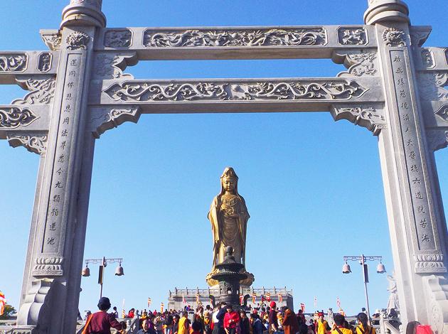 寧波杭州 普陀山+靈隱寺  朝聖之旅六日 2