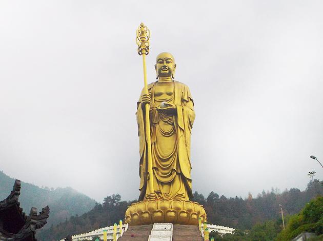 九華山地藏菩薩  肉身菩薩深度五日 4